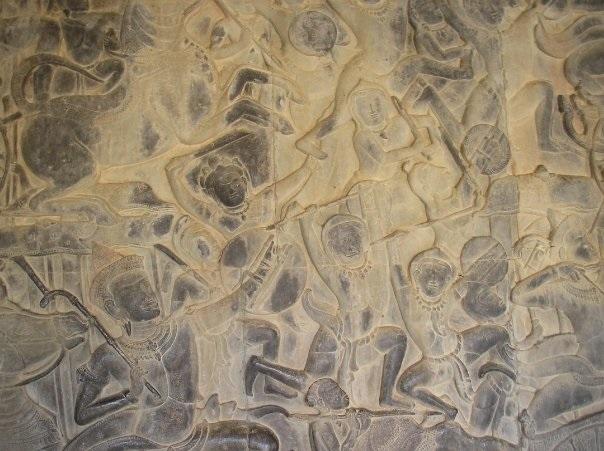 Cambodia-painting
