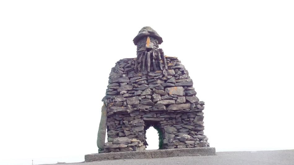 Iceland-statue-beach