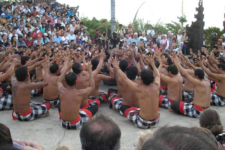 Experience The Kecak Fire Dance At The Uluwatu Temple At Sunset