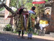 Barong-dancing