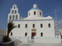 Santorini-church