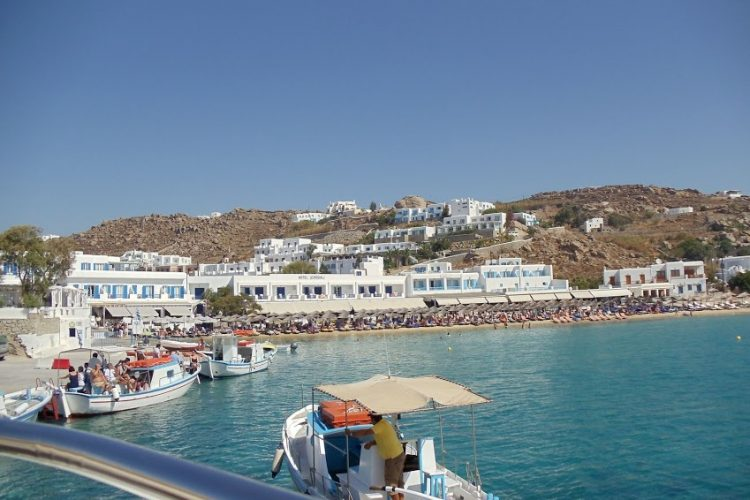 Mykonos-seaport